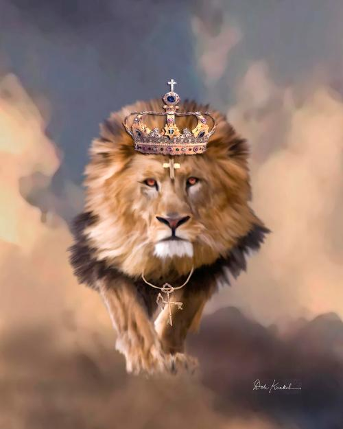 christian-religious-art-of-jesus-paintings-lion-of-judah-the-king-of-kings-christian-artist-dale-kunkel